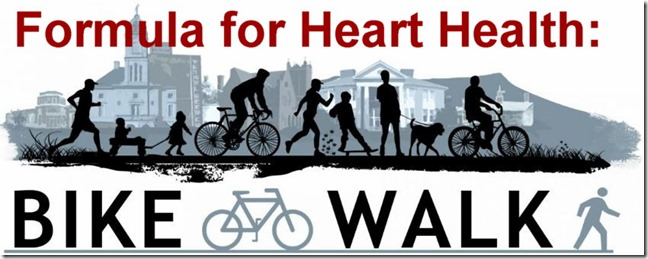 Bike-Walk for Heart Health
